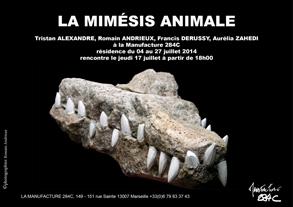 affiche mimésis animal 2